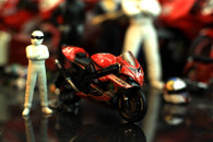 Suzuki Motorcycle Racing 1:24 Motorcycle Model Decoration Collection