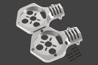 SKY-HERO ¢ 55mm AA type motor mount Silver