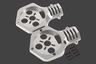 SKY-HERO ¢ 55mm AA type motor mount Silver