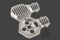 SKY-HERO ¢55MM AB Type Motor with ESC Mount Silver