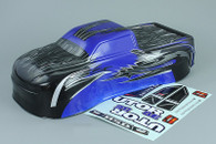 BSD /RED CAT BS810-031 RC 1/8 Scale Monster Truck Body Shell Cover Blue