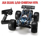JLB Racing CHEETAH HOBBY WING 120A Upgrade 1/10 Brushless RC Car Truggy 21101 RTR RC Toys