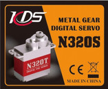 KDS Cyclic Metal Digital Servo N320S For CHASE 360 And 450 LEVEL RC helicopters