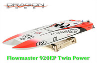 Dragon Hobby NEW Flowmaster Mini CAT 920EP w/Twin Drive 2860-3300kv plus ESC 80A*2  & Servo
