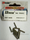 JLB PIN 3X17 10pcs PN002 CHEETAH 11101 21101 1/10 RC Car Parts