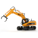 HUINA 1570 1:14 2.4GHz 16CH RC Alloy Log Grabbing Machine with Arms Auto Demonstratio RTR