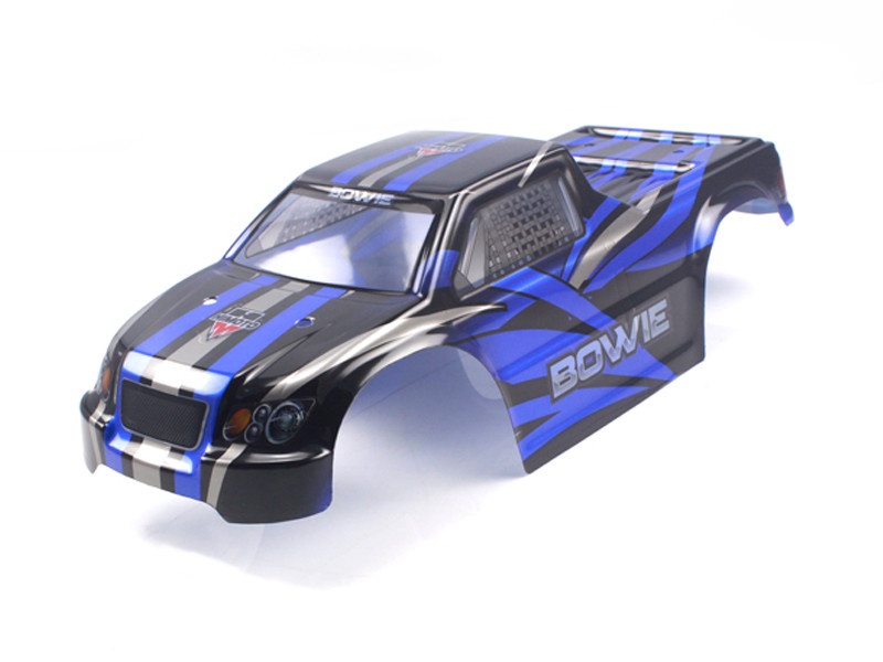 Himoto Bowie 1 10 Scale Rc Car Parts 31800 1 10 Truck Body Blue For E10mt E10mtl