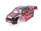 Himoto Bowie 1/10 scale RC CAR parts 31801 1:10 Truck Body Red for E10MT, E10MTL