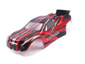Himoto Katana 1/10 scale RC CAR parts 31501 1:10 Truggy Body(Red) for E10XT, E10XTL