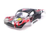 Himoto Spatha 1/10 scale RC CAR parts 31410 1:10 Black Short Course Car Body 1P for E10SC, E10SCL