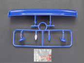 ABS RC CAR Rear Wing  Used with  HONDA NSX RAYBRIG
