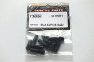 VKAR RACING Short Course Truck X10 V2 MA339-b BALL CUP 12 & 17 & 22 1/10 RC monster truck CAR PARTS