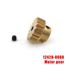 Wltoys 12428 12423 1/12 RC Car Spare Parts 0088 17T motor gear