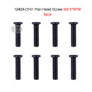 Wltoys 12428 12423 1/12 RC Car Spare Parts 0101 Cross Pan Head Screw M2.5*8 PM 8pcs