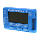 Cellmeter-8 Battery Capacity Checker Servo Tester RC CellMeter 8 for 2-8S LiPo LiFe Li-ion NiMH Nicd