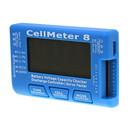 Cellmeter-8 Battery Capacity Checker Servo Tester RC CellMeter 8 for 2-8S LiPo LiFe Li-ion NiMH Nicd