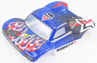 HIMOTO 1:18 Tyronno E18SC Short Course Body Shell -Blue 28744