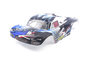 HIMOTO 1:18 Tyronno E18SC Short Course Body Shell - White 28718