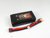 "Giant Power 2S 7.4v 2 Cell 5400 mah 100C-200C  Battery Ultra Graphene 2.0 ""Shorty"" Hard Pack Deans Plug"