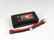 """Giant Power 2S 7.4v 2 Cell 5400 mah 100C-200C  Battery Ultra Graphene 2.0 """"Shorty"""" Hard Pack Deans Plug"""