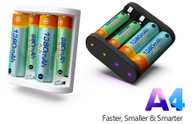 Original ISDT A4 10W 1.5A AA AAA Battery Charger DC Smart Battery Charger Unit For 10500 12500 Battery