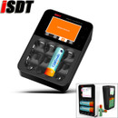 ISDT C4 8A Touch Screen Smart Battery Charger With 6 Channels USB Output Large-size Screen For 18650 26650 AA Battery
