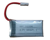 Volantex RC 3.7V 360mAh Lipo Rechargeable Battery for RC Airplane 761-2, 761-3, 761-4