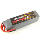 Giant Power DINOGY Graphene 2.0 70C 22.2V / 6S 5000mah 70C-140C Li-Po Battery with no plug for RC FPV  Racing ,  Helicopter