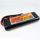 GIANT POWER 35C 4500mAh 7.4V Lipo Battery CF Fixed wire Hardcase