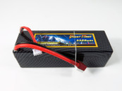 GIANT POWER 11.1V 5500mAh 65C Lipo Battery CF Fixed wire Hardcase Deans for RC on floor car, Truggy, Buggy