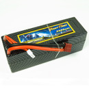 GIANT POWER 14.8V 4S 5500mAh 65C Lipo Battery CF Fixed wire Hardcase Deans for RC on floor car, Truggy, Buggy
