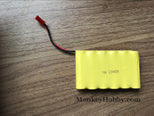 Huina 1573 RC Excavator Spare Parts 7.2V 400mAh Ni-CD Battery JST Plug