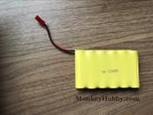 Huina 1573 RC Excavator Spare Parts 7.2V 400mAh Ni-CD Battery JST Plug