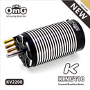 KINETIC Sensored Brushless Motor KV2200 for 1:8 Off-road  Electric RC Car, Crawlers, Buggy, Trucks, Truggy