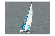 Beili Poseidon 650 2.4GHz Sailboat 1370mm Ready to Run