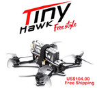 EMAX Tinyhawk Freestyle 115mm 2.5inch F4 5A ESC FPV Racing RC Drone BNF Version Frsky Compatible Cine Whoop Drone