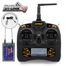 Dynam Detrum GAVIN-6C 6-Channel digital transmitter set w/ RXC7 w/ USB Simulator cable