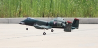 Dynam A-10 Thunderbolt Green 64mm EDF Jet - BNP (2.4G receiver with 6-Axis Gyro w/ABS Ready)