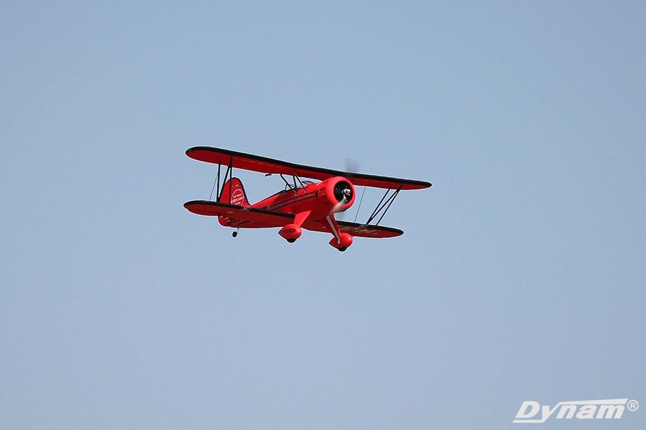 Dynam Waco Red 1270mm Wingspan SRTF