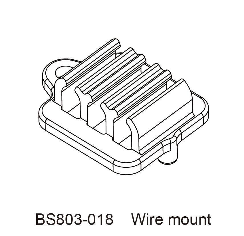 redcat wiring diagram bsd redcat rc car parts bs803 018 wire mount  bsd redcat rc car parts bs803 018