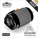 Mirage  4 Poles Sensored Brushless Motor For 1:10 Off-road  Electric RC Car,Crawlers,Buggy, Trucks, Truggy