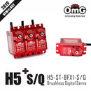 OMG Full metal brushless Digital standard servo H5-X1S+ , H5-X1Q+ with Stainless Steel Gear for 700 Helicopter (1 pc)