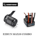 Hobbywing Combo EZRUN MAX10 60A Brushless ESC + 3652SL G2 3300KV / 4000KV / 5400KV Waterproof Brushless Motor for 1:10 Car Off-road / On-Road  Heavy Duty