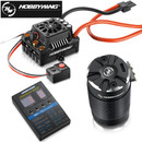 Hobbywing EzRun Max8 v3 150A Waterproof Brushless ESC T / TRX Plug 4268 2600KV Brushless Motor With Program Card for 1/8 RC Scale Car
