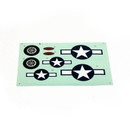 Dynam PBY Catalina Seaplane DY8943 decal (blue) CTL-11 RC Plane Parts