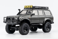 Christmas Gift to Kids FMS 1:18 Land Cruiser 80 (Gray) SCALER RC Cars ROC004RTR