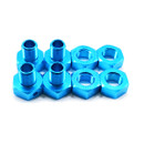 JLB Racing 1/10 parts EA1015 Metal upgrade parts 17mm Wheel Joint 4PCS (Blue or Red)