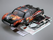 Killerbody 1/10 Short Course Truck  MONSTER  Body Shell   Mars graphics (Printed) 48166 Can be used with Traxxas/HPI/ AE