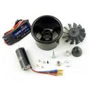 Dynam 70MM 12-Blades 6S EDF Power System 2860-2200KV inrunner Motor With 80A ESC XT60 Plug