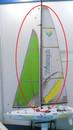 Beili Sailboat Triumph 800 Sailboat BY0303-2 Sail